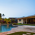 Luxury Backyard Pool And Lanai by Inti St. Clair