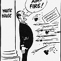 Lyndon B. Johnson: Cartoon by Granger