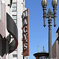 Macys Department Store In San Francisco by Wingsdomain Art and Photography