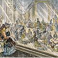 Macys Holiday Display, 1876 by Granger