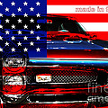 Made In The Usa . Pontiac Gto by Wingsdomain Art and Photography