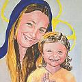 Madonna And Child by Susan  Clark