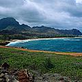 Maha'ulepu Beach by Kathy Yates