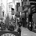 Maiden Lane San Francisco California - 5d19376 - Black And White by Wingsdomain Art and Photography