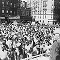 Malcolm X, Speaking To An Outdoor Rally by Everett