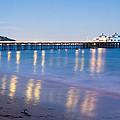 Malibu Pier Reflections by Adam Pender