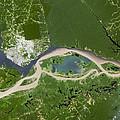 Manaus, Satellite Image by Planetobserver