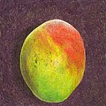 Mango On Plum by Steve Asbell