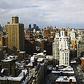 Manhattan View On A Winter Day by Madeline Ellis