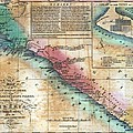 Map Of The West Coast Of Africa by Everett