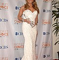 Mariah Carey Wearing A Ysa Makino Gown by Everett