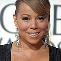 Mariah Carey Wearing Chopard Earrings by Everett