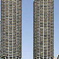 Marina City Chicago - Life In A Corn Cob by Christine Till