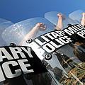Marines Practice Riot Control by Stocktrek Images
