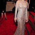 Marion Cotillard Wearing A Silver by Everett
