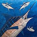 Marlin and Ahi Print by Carol Lynne