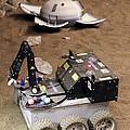 Mars Rover Testing by Ria Novosti