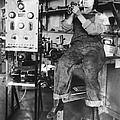 Mary Loomis, Radio School Operator by Science Source