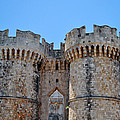 Medieval Fortress Of Rhodes. by Fernando Barozza