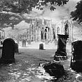 Melrose Abbey by Simon Marsden
