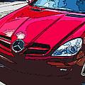 Mercedes Benz Slk Nose Study by Samuel Sheats