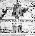 Mexico: Aztec Temple, 1765 by Granger