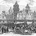 Mexico City, 1847 by Granger