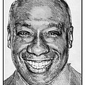 Michael Clarke Duncan in 2009 Print by J McCombie