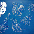 Michael Jackson Anti-gravity Shoe Patent Artwork by Nikki Marie Smith