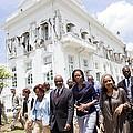 Michelle Obama And Jill Biden Tour by Everett