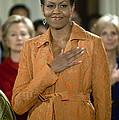 Michelle Obama At A Public Appearance by Everett