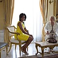 Michelle Obama Meets With Clio by Everett