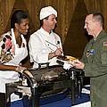 Michelle Obama Talks Talks With U.s by Everett