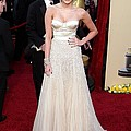Miley Cyrus Wearing A Jenny Packham by Everett