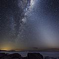Milky Way Over Cape Otway, Australia by Alex Cherney, Terrastro.com