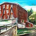 Millbury Mill by Scott Nelson