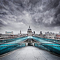 Millenium Bridge London by Martin Williams