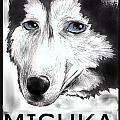 Mishka Fan Poster by Warren Lindsey