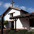 Mission Francisco Solano - Downtown Sonoma California - 5d19300 by Wingsdomain Art and Photography