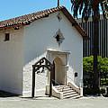 Mission San Rafael Arcangel Chapel by Methune Hively