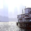 Mist Over Victoria Harbour by Enrique Rueda