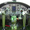 Mitchell B-25 Bomber Cockpit Print by Don Struke