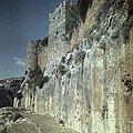 Moat Of Saladins Castle, A Byzantine by Everett