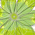 Moda Flower Mix I  by Ricki Mountain