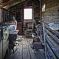 MOLSON GHOST TOWN STORAGE SHED Print by Daniel Hagerman