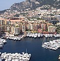 Monaco Harbour by Marlene Challis