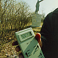 Monitoring Fallout Levels From Chernobyl. by Ria Novosti