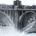 Monroe St Bridge 2 - Spokane Washington by Daniel Hagerman