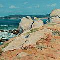 Monterey Coast by Guy Rose