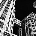 Moon Over Twin Towers 2 by Samuel Sheats